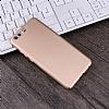Huawei P10 Plus Tam Kenar Koruma Gold Rubber Kılıf - Resim 3