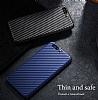 Huawei P10 Plus Ultra İnce Karbon Kırmızı Kılıf - Resim 6