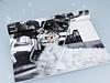 Huawei P10 Taşlı Love Şeffaf Silikon Kılıf - Resim 1