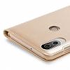 Huawei P20 Lite Dokunmatik Sensörlü Full Pencereli Lacivert Kılıf - Resim 4