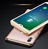 Huawei P20 Lite Dokunmatik Sensörlü Full Pencereli Lacivert Kılıf - Resim 5