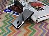 Huawei P20 Lite Silikon Kenarlı Aynalı Metal Silver Kılıf - Resim 1