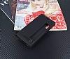 Huawei P20 Pro Gizli Mıknatıslı Pencereli Siyah Deri Kılıf - Resim 2