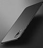 Huawei P20 Pro Mat Mürdüm Silikon Kılıf - Resim 3