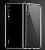 Huawei P20 Pro Ultra İnce Şeffaf Silikon Kılıf - Resim 1