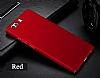 Huawei P8 Lite Tam Kenar Koruma Kırmızı Rubber Kılıf - Resim 1