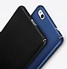 Huawei P8 Lite Tam Kenar Koruma Siyah Rubber Kılıf - Resim 2