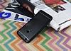Huawei P9 Lite 2017 Silikon Kenarlı Siyah Metal Kılıf - Resim 1