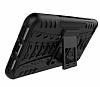 Huawei P9 Lite 2017 Ultra Süper Koruma Standlı Siyah Kılıf - Resim 3