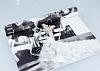 Huawei P9 Taşlı Kelebek Şeffaf Silikon Kılıf - Resim 2