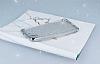 Huawei Y6 ii Simli Silver Silikon Kılıf - Resim 2