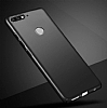 Huawei Y7 2018 Tam Kenar Koruma Siyah Rubber Kılıf - Resim 4