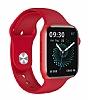 HW22 Kırmızı Akıllı Saat 44mm