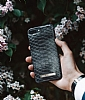 iDeal of Sweden iPhone 6 Plus / 6S Plus / 7 Plus / 8 Plus Black Reptile Kılıf - Resim: 1