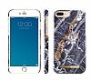 iDeal of Sweden iPhone 6 Plus / 6S Plus / 7 Plus / 8 Plus Midnight Blue Marble Kılıf - Resim 3