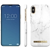 iDeal of Sweden iPhone X White Marble Kılıf - Resim: 1