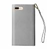 iDeal of Sweden Myfair Clutch iPhone 6 / 6S / 7 / 8 Light Grey Kılıf - Resim 1