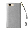 iDeal of Sweden Myfair Clutch iPhone 6 Plus / 6S Plus / 7 Plus / 8 Plus Light Grey Kılıf - Resim: 1