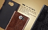 IMAK Blackberry Priv Siyah Deri Rubber Kılıf - Resim 5