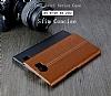 IMAK BlackBerry Priv Siyah Lux Deri Kılıf - Resim 8