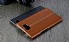 IMAK BlackBerry Priv Siyah Lux Deri Kılıf - Resim 3