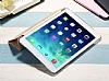 iPad Air / iPad 9.7 Kapaklı Standlı Siyah Kılıf - Resim 2