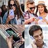 iPhone 11 Pro Kaydırmalı Kamera Korumalı Mor Silikon Kılıf - Resim 3