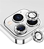 iPhone 12 Pro 6.1 inç Silver Taşlı Kamera Lens Koruyucu
