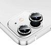iPhone 12 Mini 5.4 inç Crystal Taşlı Siyah Kamera Lensi Koruyucu