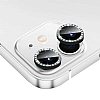 iPhone 11 Crystal Taşlı Siyah Kamera Lensi Koruyucu