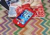 iPhone 6 / 6S 360 Derece Koruma Likit Kırmızı Silikon Kılıf - Resim 1