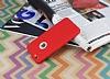 iPhone 6 / 6S 360 Derece Koruma Likit Kırmızı Silikon Kılıf - Resim 2