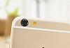 iPhone 6 / 6S Silver Kamera Lensi Koruyucu - Resim 2