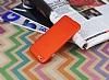 iPhone 6 / 6S Metal Tuşlu Mat Kırmızı Silikon Kılıf - Resim 2