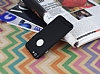 iPhone 6 / 6S Metal Tuşlu Mat Siyah Silikon Kılıf - Resim 2