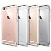 iPhone 6 / 6S Tam Kenar Koruma Şeffaf Rubber Kılıf - Resim 3