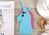 iPhone 6 / 6S Unicorn Beyaz Silikon Kılıf - Resim 2