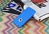 iPhone 6 Plus / 6S Plus 360 Derece Koruma Likit Mavi Silikon Kılıf - Resim 2