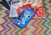 iPhone 6 Plus / 6S Plus 360 Derece Koruma Likit Mavi Silikon Kılıf - Resim 1