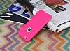 iPhone 6 Plus / 6S Plus 360 Derece Koruma Likit Pembe Silikon Kılıf - Resim 2
