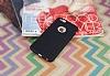 iPhone 6 Plus / 6S Plus Deri Desenli Ultra İnce Siyah Silikon Kılıf - Resim 2