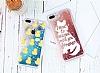 iPhone 6 Plus / 6S Plus Simli Sulu Fashion Kırmızı Silikon Kılıf - Resim 2