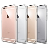iPhone 6 Plus / 6S Plus Tam Kenar Koruma Şeffaf Rubber Kılıf - Resim 3