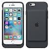 iPhone 6S Orijinal Smart Battery Charcoal Gray Kılıf - Resim 2