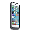 iPhone 6S Orijinal Smart Battery Charcoal Gray Kılıf - Resim 1
