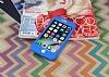iPhone 7 360 Derece Koruma Likit Mavi Silikon Kılıf - Resim 2