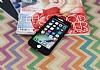 iPhone 7 360 Derece Koruma Likit Siyah Silikon Kılıf - Resim 1
