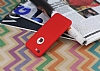 iPhone 7 360 Derece Koruma Likit Kırmızı Silikon Kılıf - Resim 2