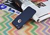 iPhone 7 Metal Tuşlu Mat Lacivert Silikon Kılıf - Resim 2