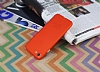 iPhone 7 / 8 Metal Tuşlu Mat Kırmızı Silikon Kılıf - Resim 2